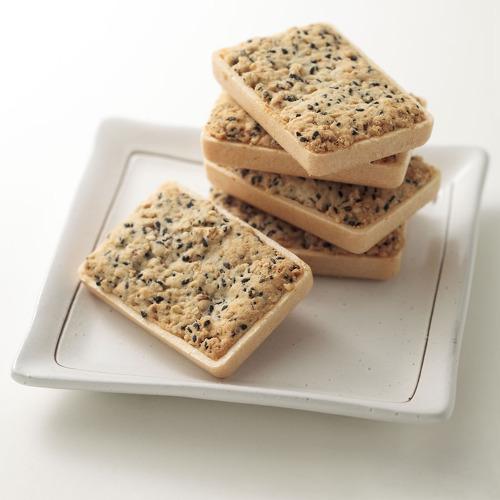 米粉ごまクッキー 勝鬨もなか