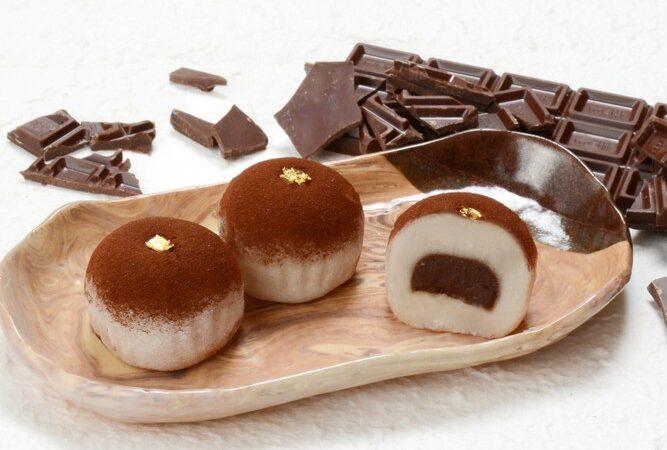 生チョコ大福-季節のお菓子